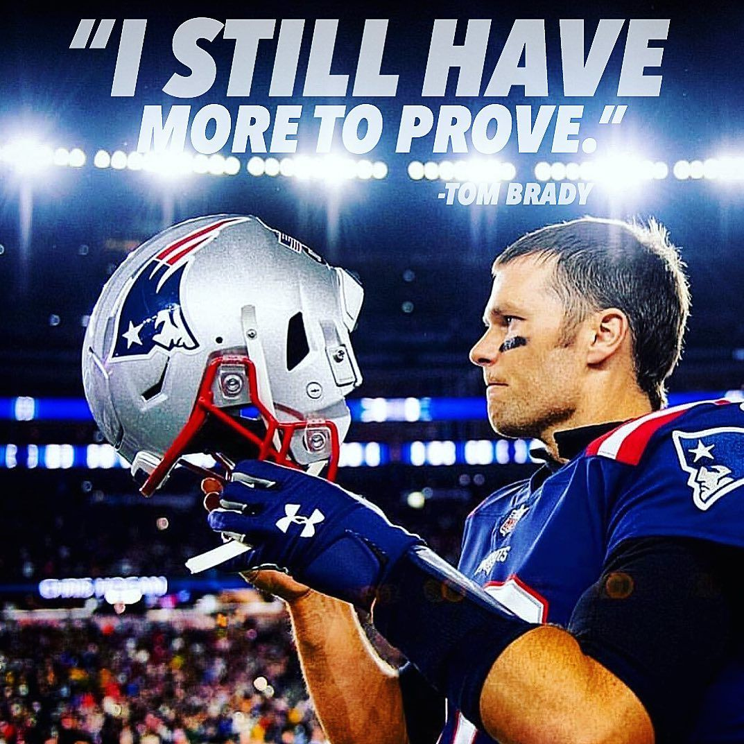 More To Prove Whatta Psycho Lfg Goat In 2020 New England Patriots New England Patriots Merchandise Football Memes Nfl