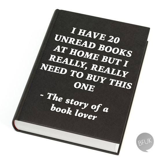 Story of every book lover ever!