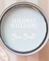 Sherwin Williams Sea Salt Paint Color | Pizzazzerie