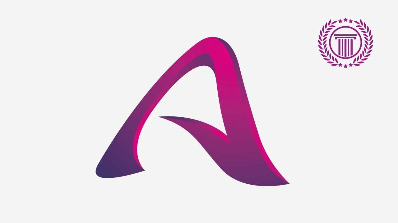 Letter Logo Design Tutorial Without Coreldraw X7 Illustrat