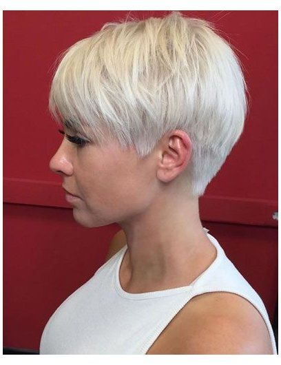 short layered haircuts shaggy pixie older women