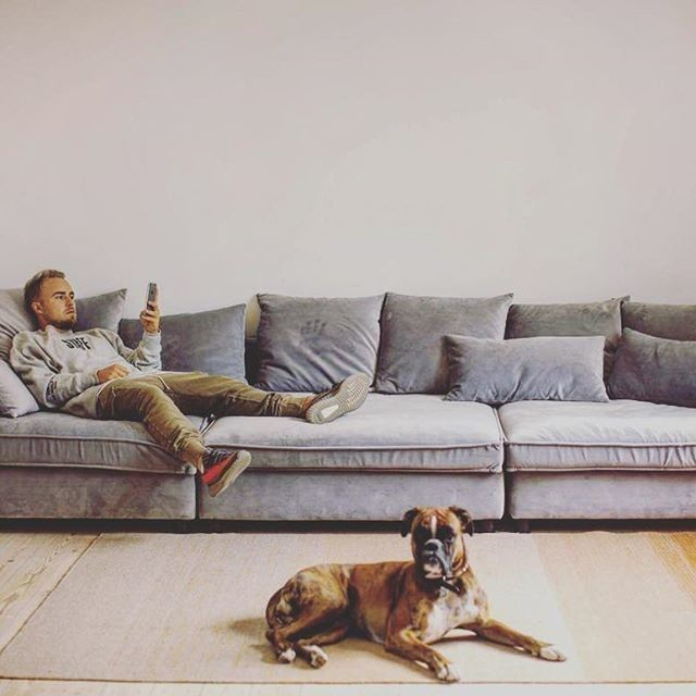 Weu0027ve Spotted This Amazing Picture Of Our Mr. Big Sofa From @peterfalktoft