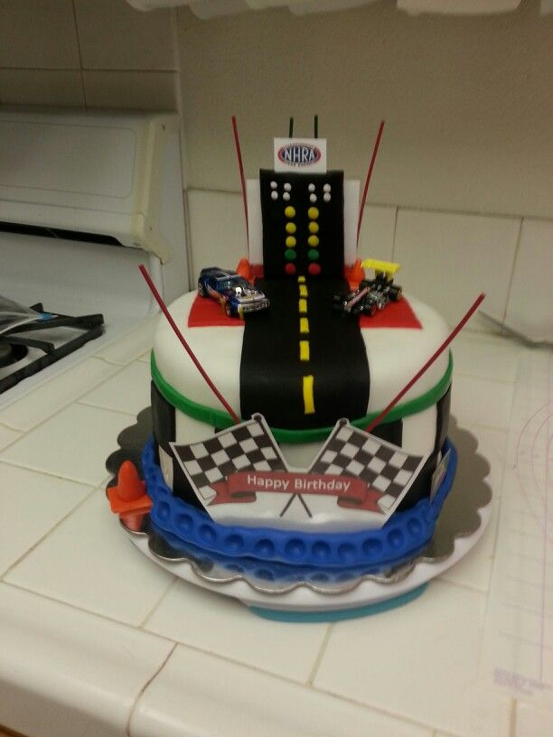 Drag Racing Cake Cake Ideas Pinterest Racing Cake
