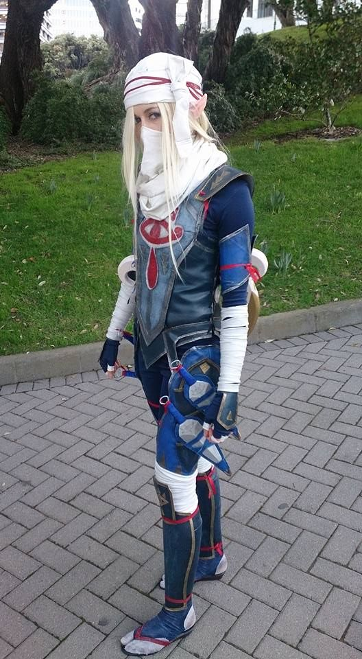 When In Cosplay Try To Stay In Character Cause I Know I For A Fact