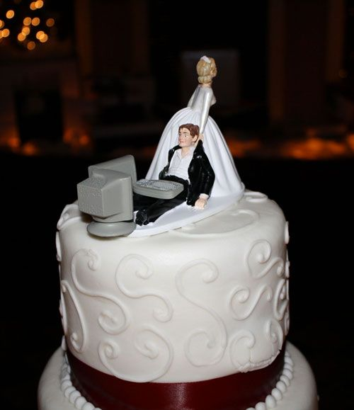 Wedding Cake Geek Wedding Cake Funny Wedding Cakes Funny Wedding Cake Toppers