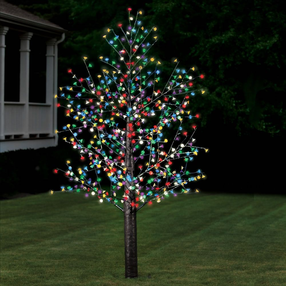 The 720 LED Blossom Tree - Hammacher Schlemmer (With ...
