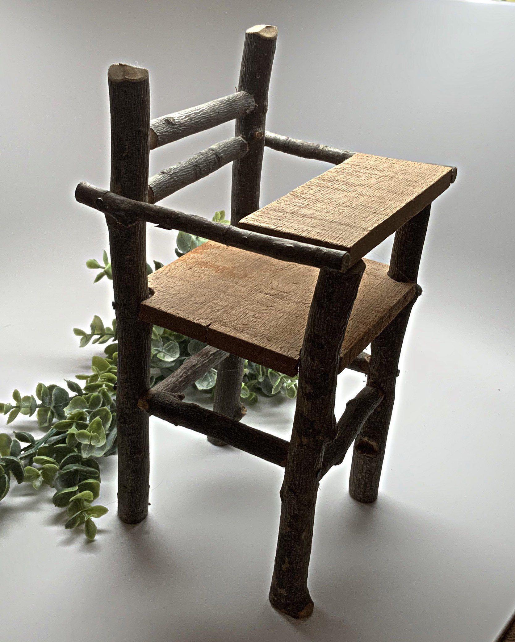 Handmade miniature fairy twig furniture