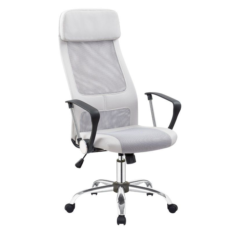 Elton High Back Mesh Desk Chair Reviews Joss Main In 2020 Office Desk Chair Contemporary Office Chairs Chair