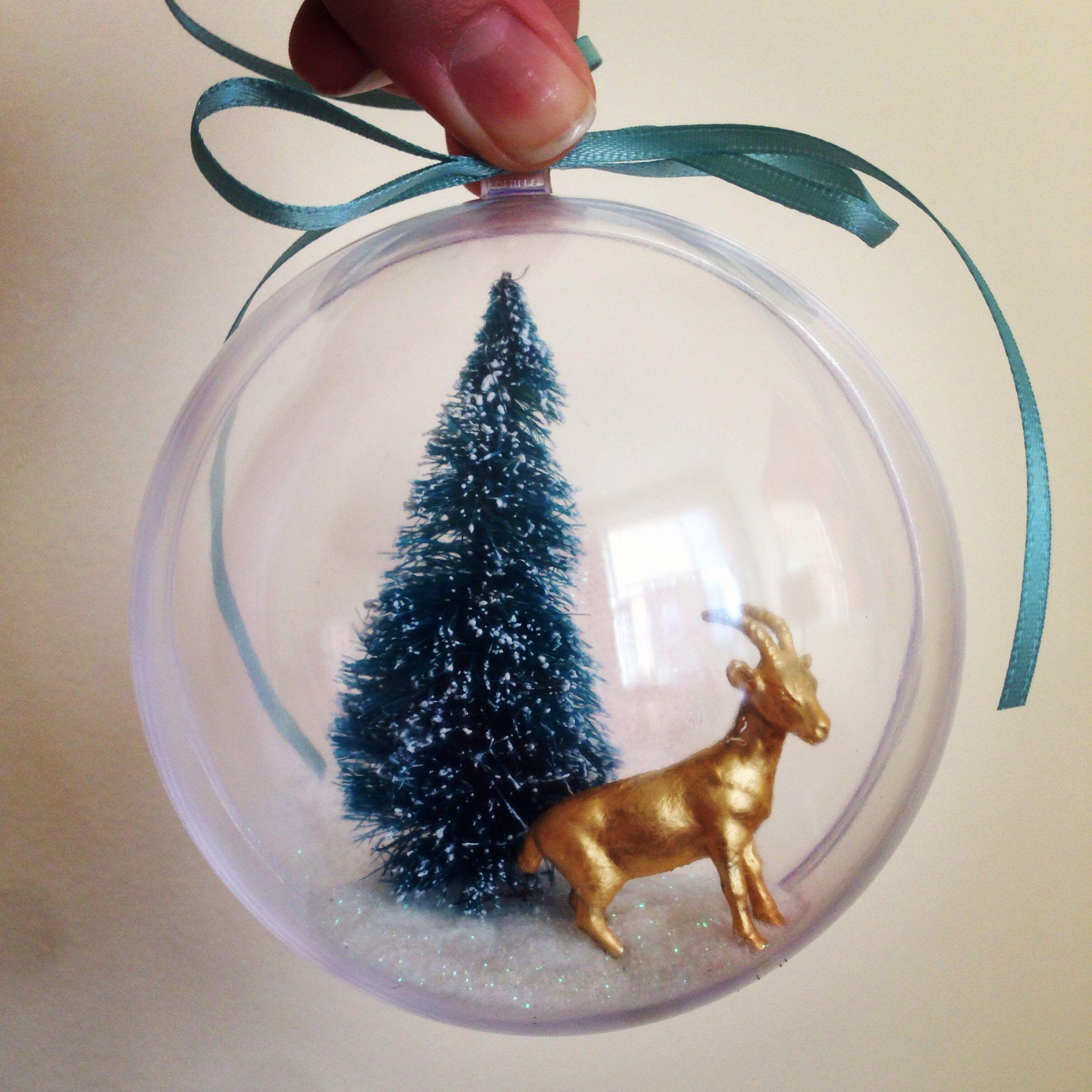 Goat Christmas Ornament.Diy Golden Goat Christmas Ornament Holiday Cheer