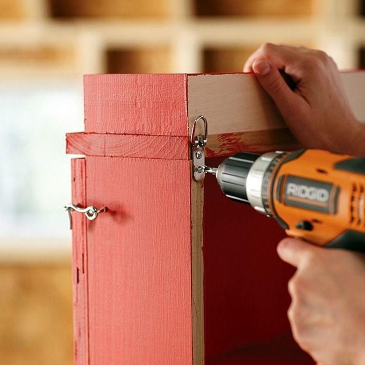Fabriquer Une Armoire Murale Et Table Rabattable Balcon Diy Armoire Murale Fabriquer Une Armoire Parement Mural
