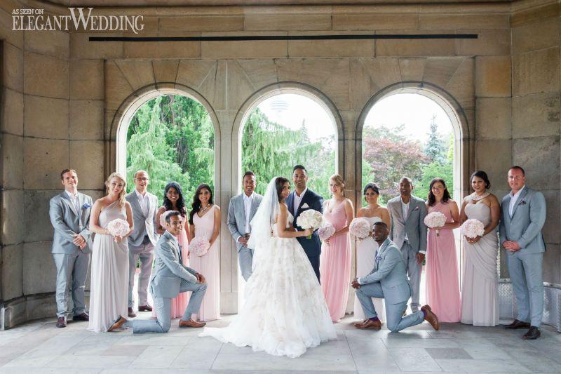 Vibrant Bridesmaid Dresses