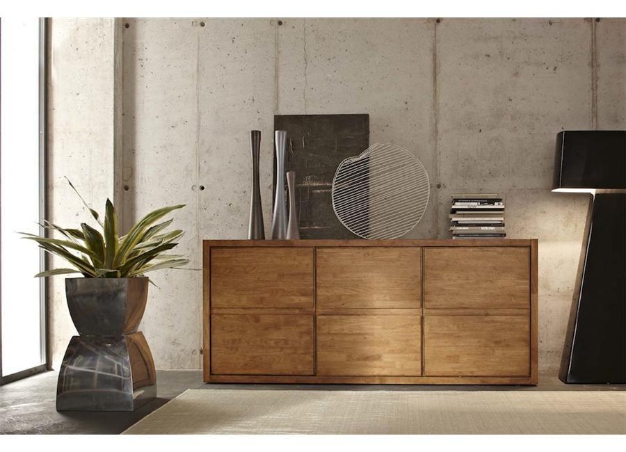 Anteprima dal salone del mobile 2013: madia moderna in legno olmo ...
