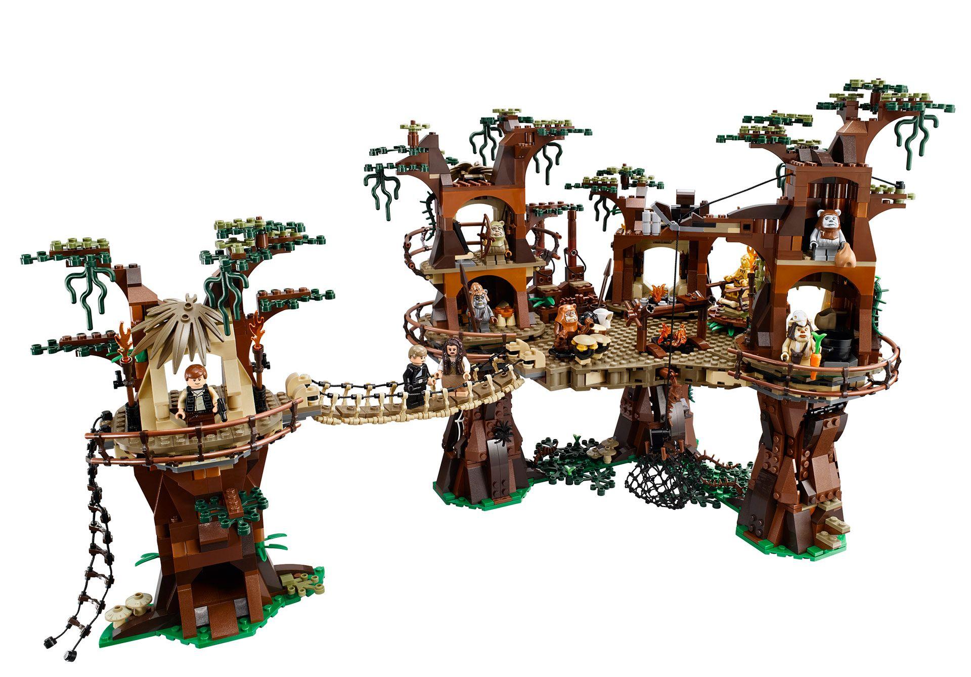 lego ewok treehouse