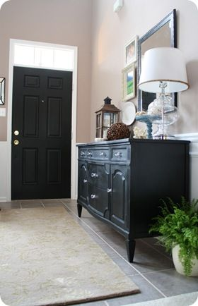 Possible   ve already posted this one but love the black door and design blogshome also best for home images painted furniture antique rh pinterest