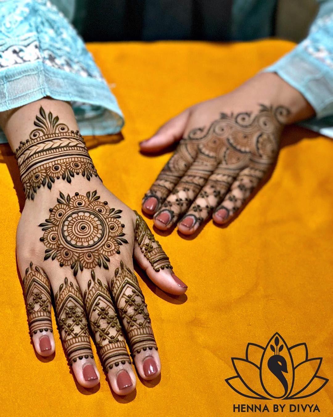 40 Simple Mehendi Designs For The Minimal Loving Bride