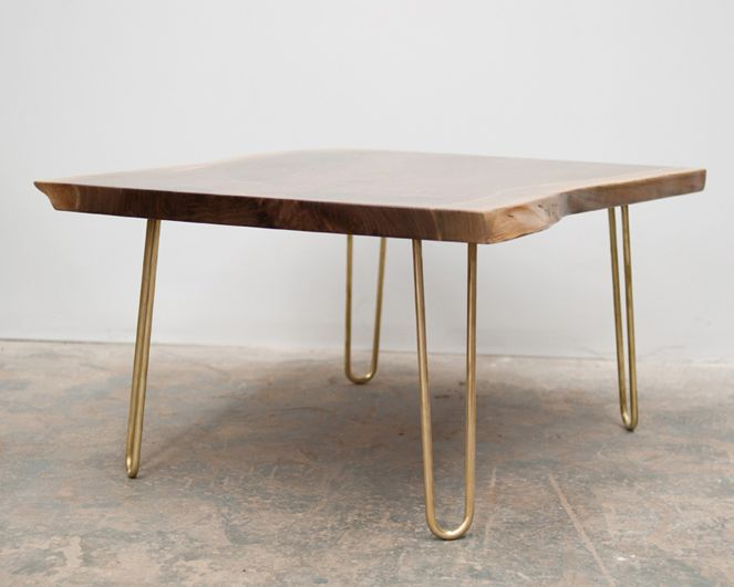 Perfect Brass Hairpin Legs From Reform Brass (can Buy The Legs And Attach To  Whatever You · Coffee Table ...