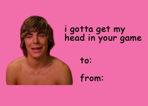 High School Musical Zac Efron Valentines Memes Funny Happy Birthday Meme Valentines Day Memes