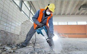 You can find local #concrete breaker #hire in Leeds at MF