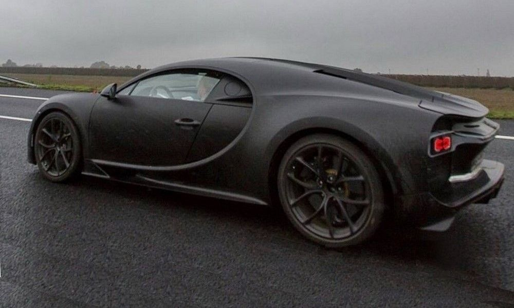 New Spy Shot Gives Us Best Look Of The Bugatti Chiron Yet Http