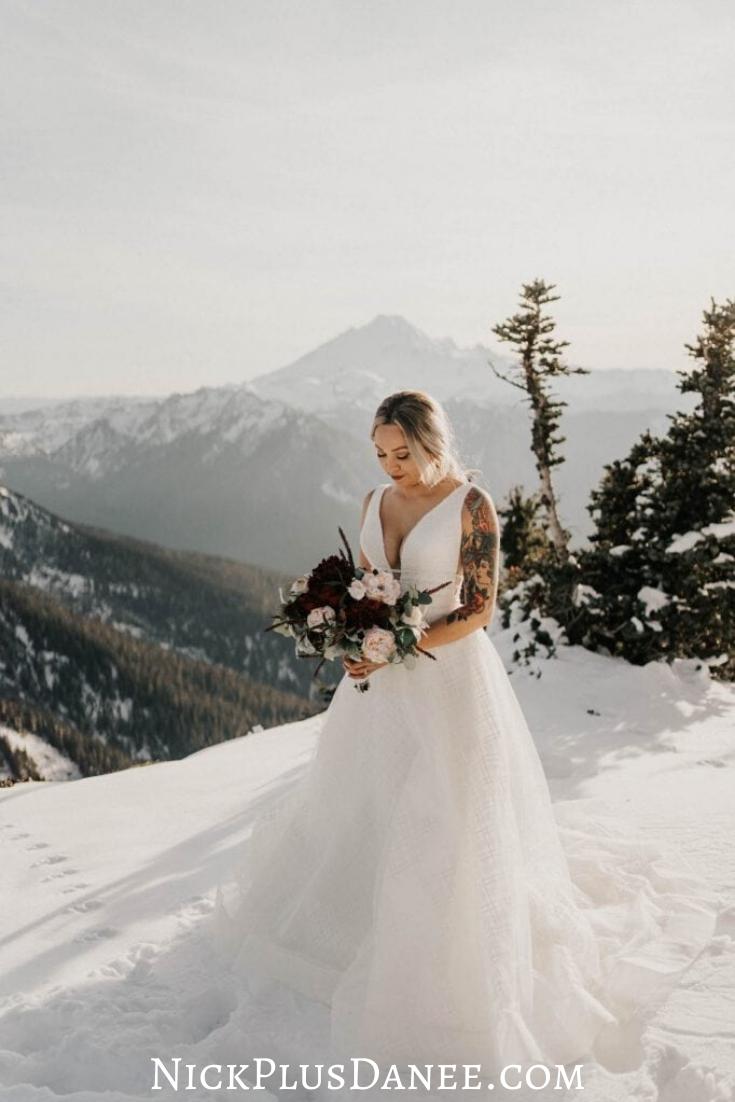 Epic Mount Baker Elopement in 2020 | Washington weddings ...