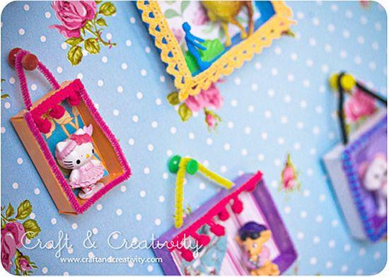 Manualidades de reciclaje originales cuadros para decorar - Dormitorios infantiles originales ...