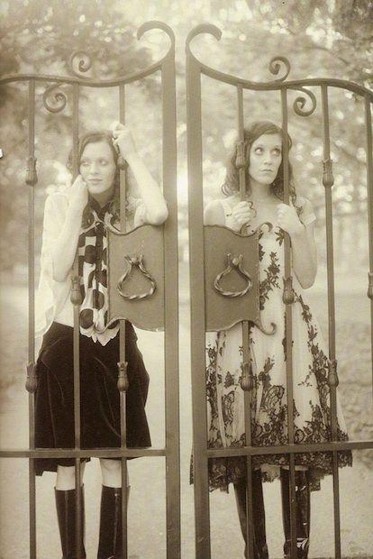 Karen Elson & Sarah Sophie Flicker in The Secret Garden by Dan Estabrook, Lula #3.