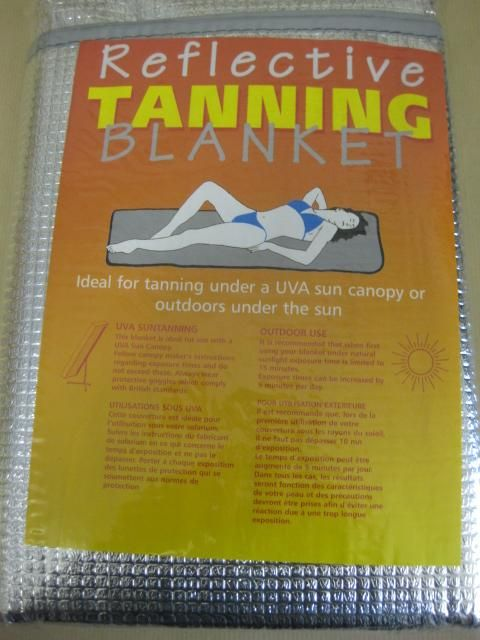 Tanning Blanket And Baby Oil The Fastest Way To A Deep Dark 70 S