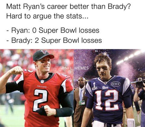 Funny NFL Memes Season Best Super Bowl LI - Falcon super bowl us map meme
