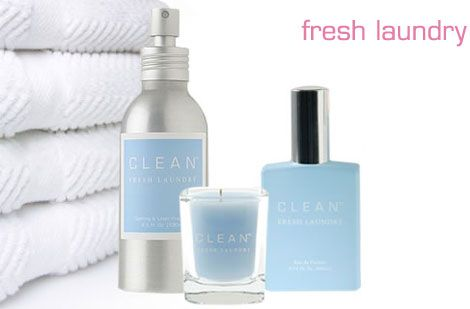 Clean Fresh Laundry Perfume Body Lotion And Both Wash With