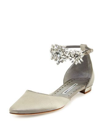 buy cheap footlocker Manolo Blahnik Embellished D'Orsay Sandals get authentic for sale buy online with paypal official site cheap price buy cheap best store to get eMCacl