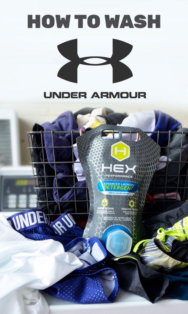 How To Wash Under Armour Hex Performance Detergent Under