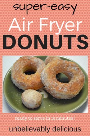 Air Fryer Donuts Recipe — Super-Easy and Delicious!