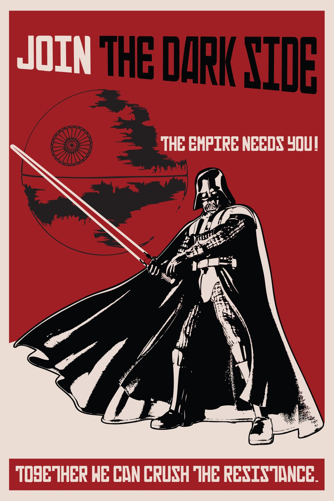 All Sizes Darth Vader Poster Cool Star Wars Picture Wall Art The Dark Side
