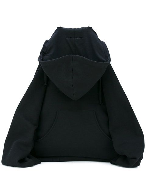 Mm6 Maison Margiela printed sweatshirt motif backpack