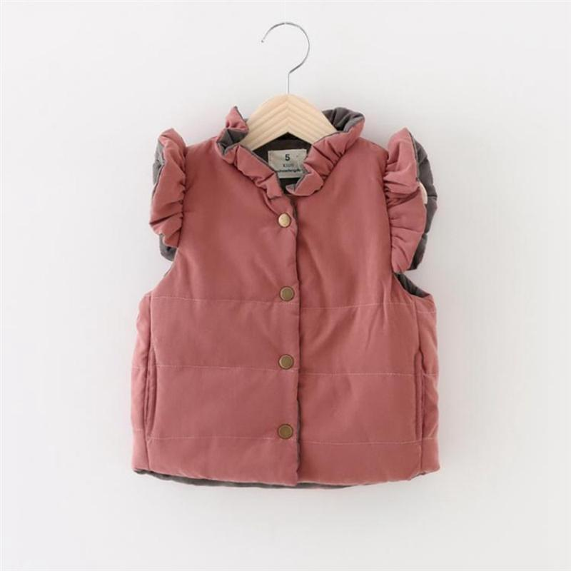 84a609a9ed7c Baby Girl s Ruffled Vest