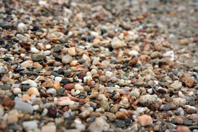 Colorful beach pebbles background by LightNuance on @creativemarket