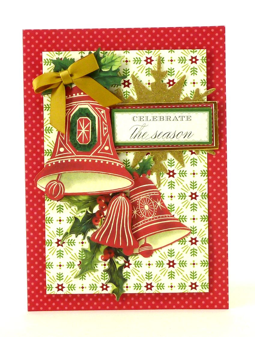 Anna Griffin, Inc. Holiday Trimmings Card Making Kit | Anna Griffin ...