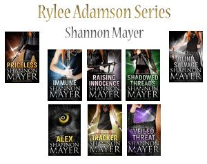 Rylee Adamson Series  by Shannon Mayer