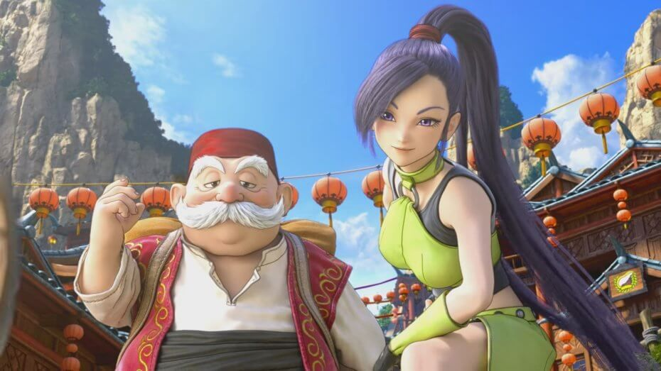 Dragon Quest is a Switch game that will run on Unreal.