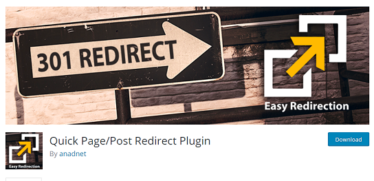 Redirection Plugin WordPress