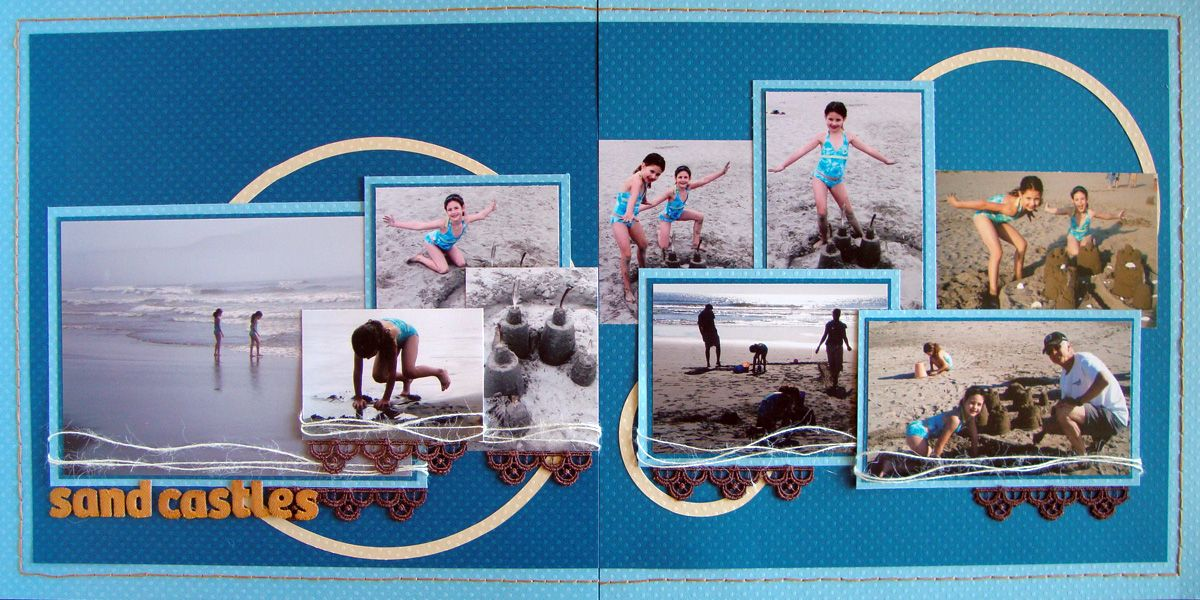 Double up no 8 scrapbook layouts scrapbook and layouts - Scrapbooking idees pages ...