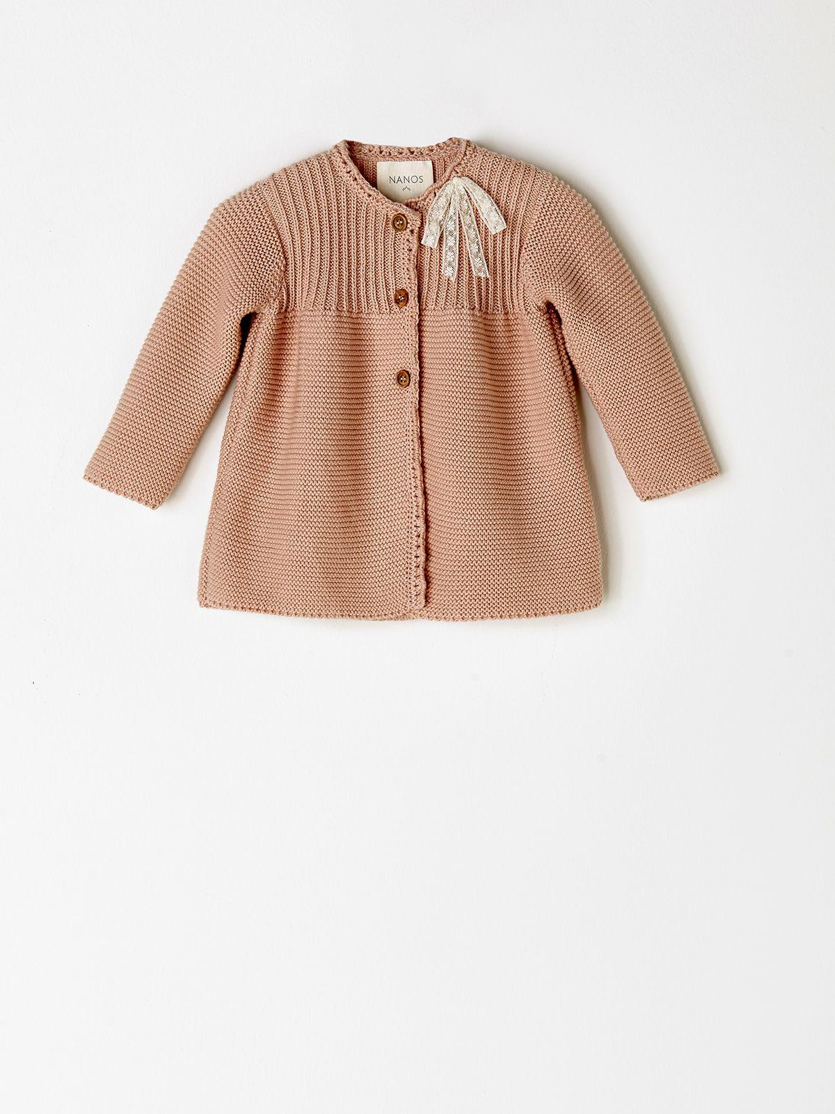 Bebé Niña. Abrigos y Cazadoras. ABRIGO PUNTO ROSA | knitting ...