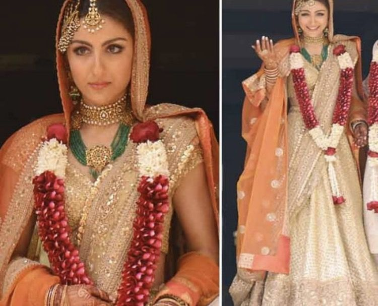 Soha Ali Khan Wedding Lengha