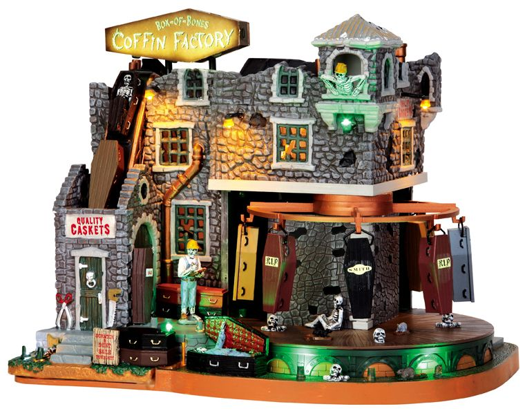 We want this one for our Halloween village! Saw it at Michaels - halloween michaels
