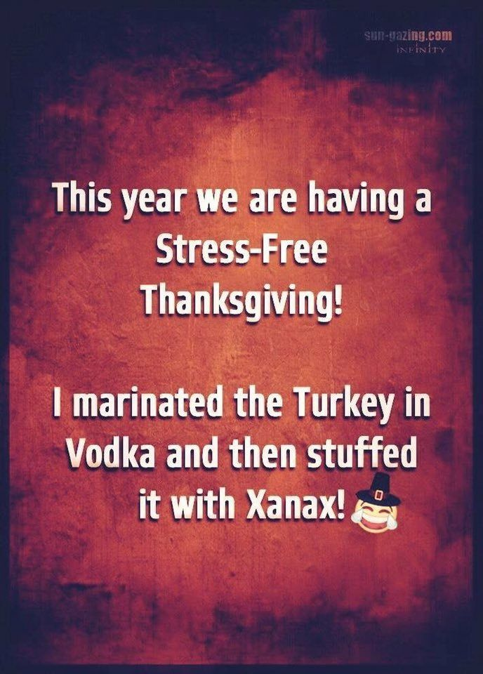 Stress free thanksgiving by Arthur Aronson on funnies
