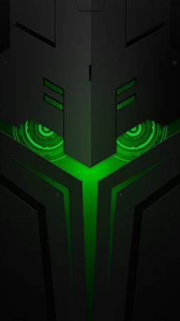 Wallpaper Xiaomi Black Shark Helo, abstract, Android 8.0 ...