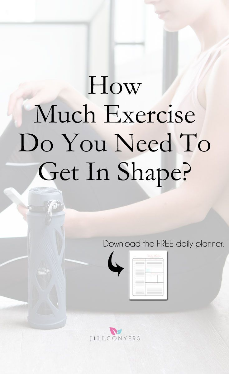 How much exercise you actually need to lose weight recommend