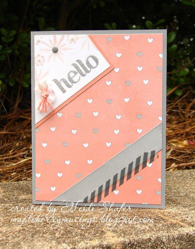 Mapleberry Musings: Soft Hello