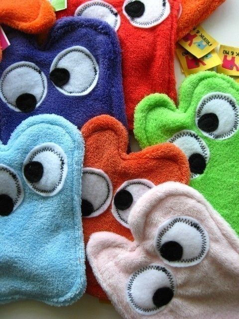 Monster Swipers - Set of 4 - Create Your Own Set