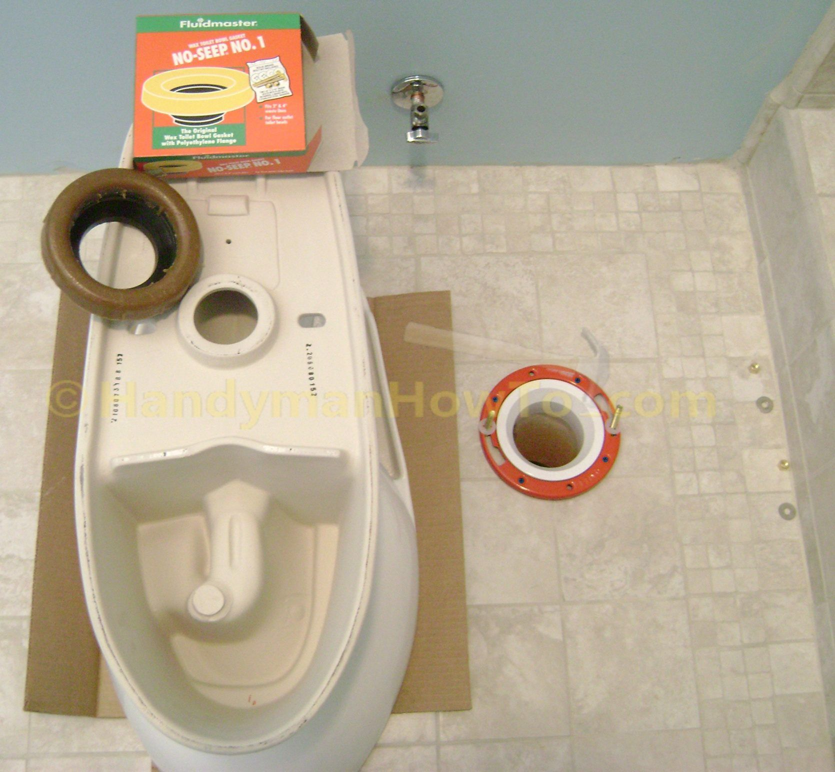 How To Finish A Basement Bathroom Install The Toilet Basement
